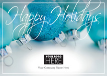 Pastel Appeal Holiday Logo Cards